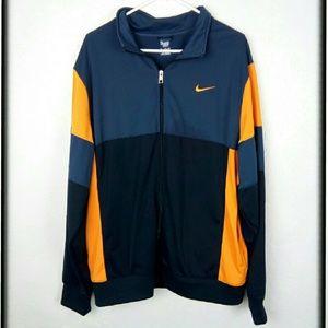 Nike color block mens full zip jacket